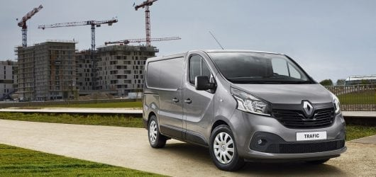 Renault Trafic: nu 0% rente Financial Lease