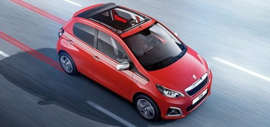 Private Lease Deal Peugeot 108