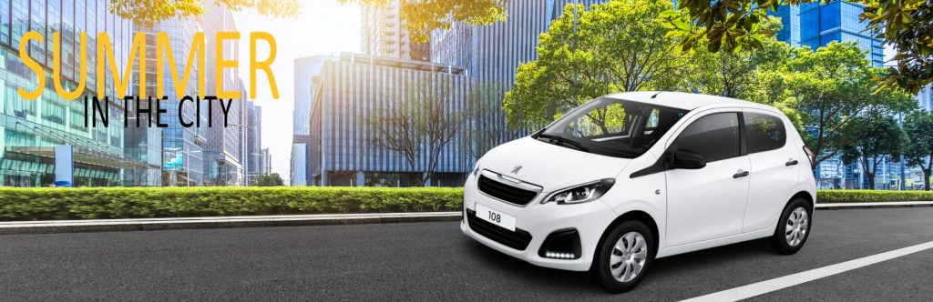Summer in the city Peugeot 108