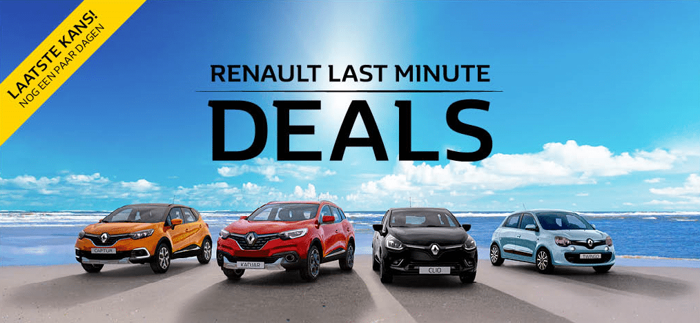 Renault Last Minute Deals