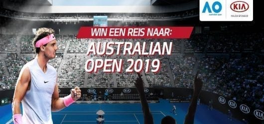 Kia Lucky Drive to Australian Open 2019. Win!