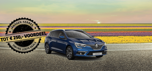 Renault MÉGANE Estate Online Lente Deals!