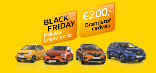 Renault Black Friday Private Lease