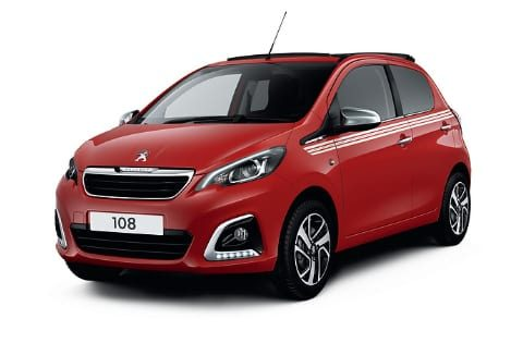 Peugeot private lease 108